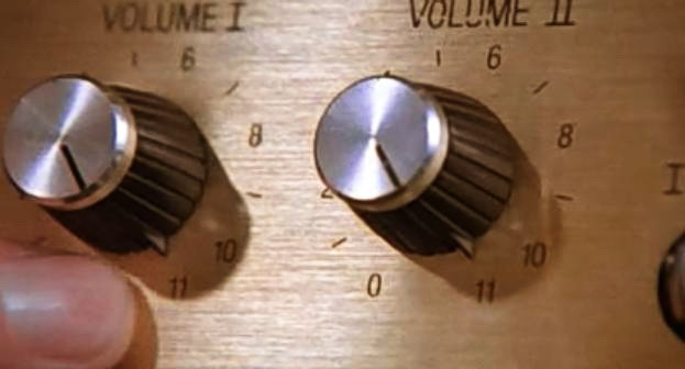 This amplifier goes to eleven
